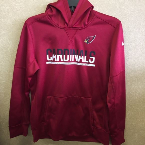 Nike Other - Nike boys size 14 NFL cardinal hoodie therma fit